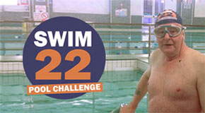 Help raise money for Diabetes UK with my 22 mile swimming challenge